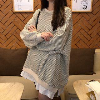 Sharis - Striped Sweatshirt