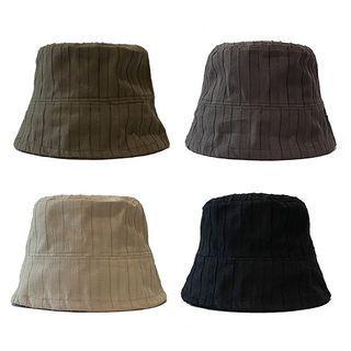 Heloi - Striped Bucket Hat