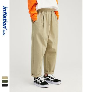 Wolandorf - Kids Elastic-Waist Straight-Cut Pants
