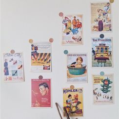 Oknana Home - Retro Poster Print Photography Props