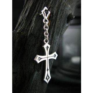 Sterlingworth - Cross Single Earring