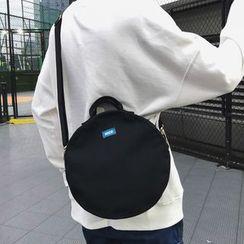 SUNMAN - Round-Shape Canvas Crossbody Bag