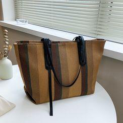 Pajack - Striped Carryall Bag