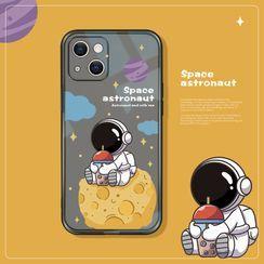 Trendie - Astronaut Phone Case - iPhone 13 Pro Max / 13 Pro / 13 / 13 mini / 12 Pro Max / 12 Pro / 12 / 12 mini / 11 Pro Max / 11 Pro / 11 / SE / XS Max / XS / XR / X / SE 2 / 8 / 8 Plus / 7 / 7 Plus