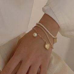 Calypso - 仿珍珠多層手鏈