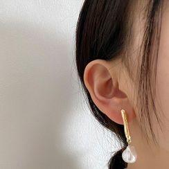 Kinkoza - Freshwater Pearl Dangle Earring
