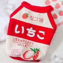 Cissilli - Strawberry Pet Top