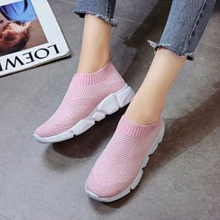 Artiz - Couple Matching Platform Sock Sneakers