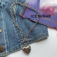 ICE SUGAR - 心心吊墜項鏈