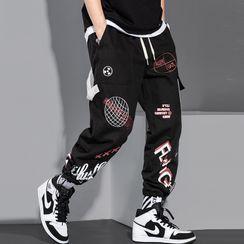 Nightbell - 哈伦工装裤