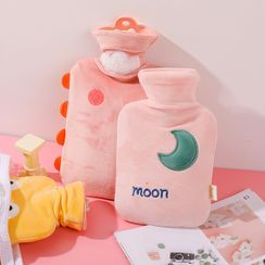 Fun House - Flannel Hot Water Bottle