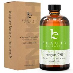 Beauty by Earth - 100% Pure & Organic Moroccan Argan Oil, 120ml