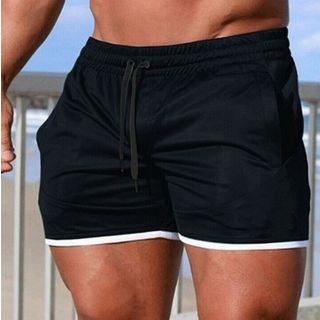 Sheck - Drawstring Beach Shorts