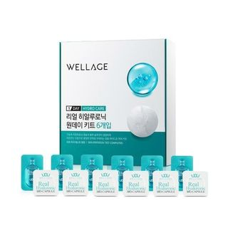 WELLAGE - Real Hyaluronic Bio Capsule & Blue Solution One Day Kit 6-Day Set