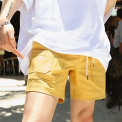 MRCYC - Drawstring-Waist Straight-Cut Shorts