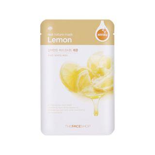 THE FACE SHOP - Real Nature Lemon Mask Sheet