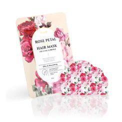 PETITFEE - Rose Petal Satin Hair Mask