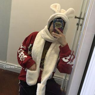 Small Planet - 小兔耳朵连帽围巾
