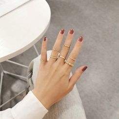 Yambo - Set: Alloy Ring (assorted designs)