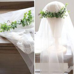 Vivian Design - Wedding Leaf Hair Fork