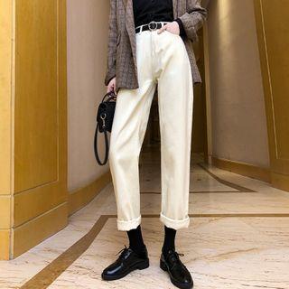 Luminato - Cropped Straight Leg Jeans