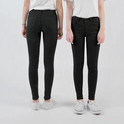 HOTPING - Black Skinny Pants (Petite/Tall)