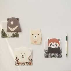 iswas - 'Daily Like' Series Animal Letter Set