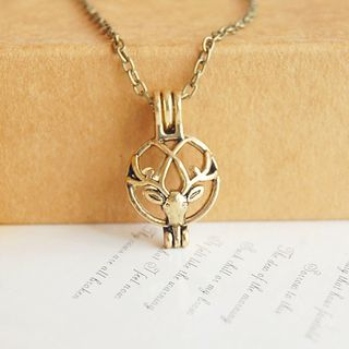 Nisen - Deer Aromatherapy Diffuser Necklace