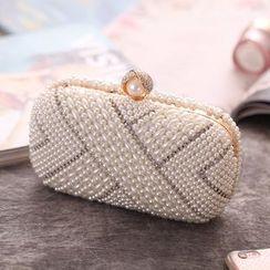 Moonflower - 珍珠夹子边手包