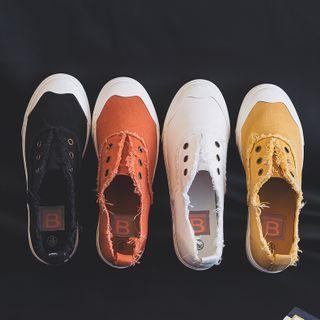 ZIMON - Canvas Slip-On Sneakers