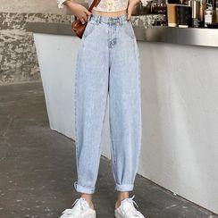 DREE - Cropped Harem Jeans