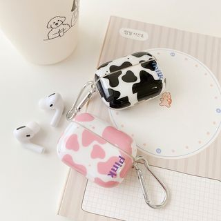 Vachie - Milk Cow Print AirPods / Pro Earphone Case Cover