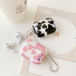 Vachie - Milk Cow Print AirPods / Pro Earphone Case Cover