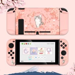 ZYUN - Cat Print Nintendo Switch Protection Case