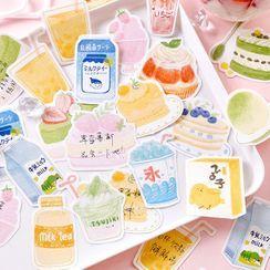 Jun's Journal - 飲料 / 甜點貼紙