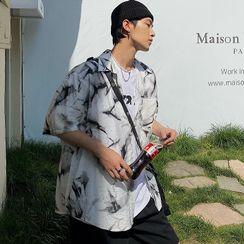 BANGBOY - Short-Sleeve Tie Dye Shirt