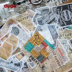 DUGA - Retro Sticker (various designs)