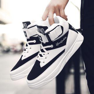 Viffara - High Top Lace Up Sneakers
