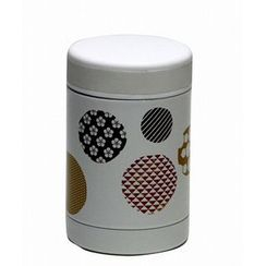 Hakoya - Hakoya Stainless Food Pot Mizutamamon White