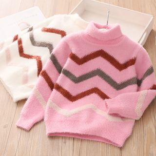 Seashells Kids - Kids Turtleneck Sweater