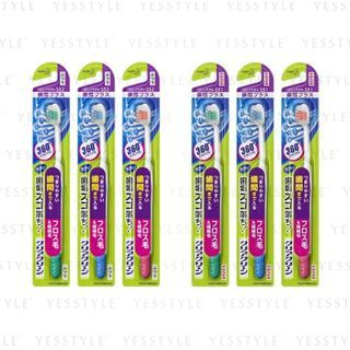 Kao - Clear Clean Intertooth Plus Compact Toothbrush - 2 Types