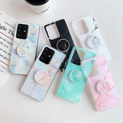 CeLLEAGUE - Marble Print Phone Case - iPhone / HUAWEI / SAMSUNG