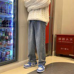 Breeson - 宽腿牛仔裤