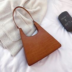 Yellowtail - Marble Texture Handbag