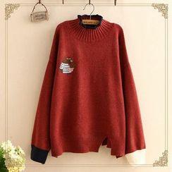 Kawaii Fairyland - Embroidered Sweater