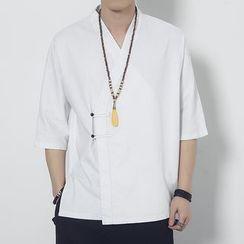Romantica - 3/4-Sleeve V-Neck Shirt