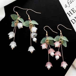 Yambo - Lily of the Valley Drop Earrings