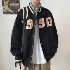 Wescosso - Print Sports Baseball Jacket