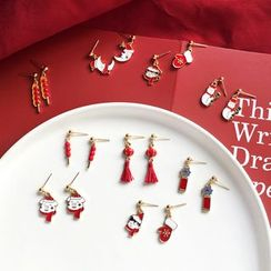 Isle of Green - Drop Earring / Clip-On Earring (Various Designs)