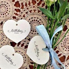 BABOSARANG - Set: 'BIRTHDAY' Gift Tag (6pcs)